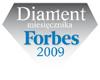 Nagroda - diament Ferbes 2009