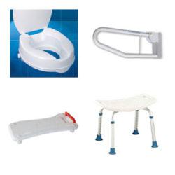 Aranżacja łazienki i WC dla niepełnosprawnych